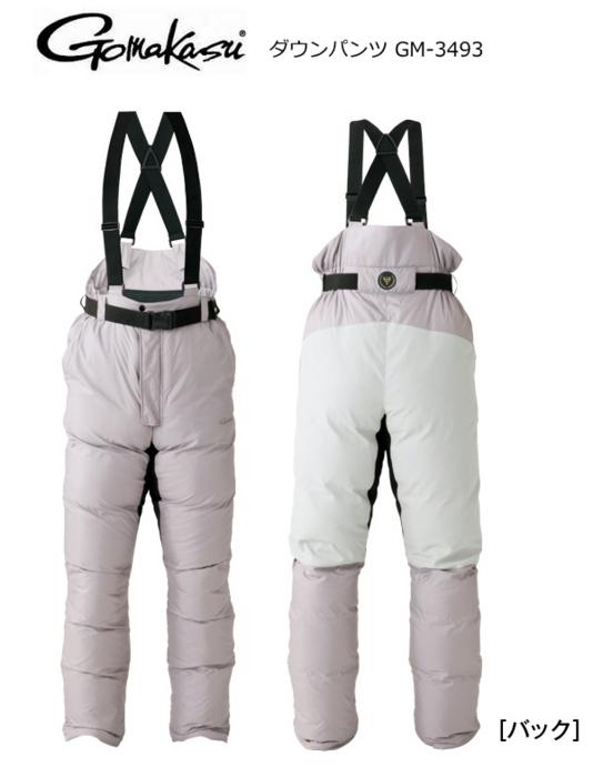 がまかつ ダウンパンツ GM-3493 Mサイズ / 防寒着 [お取り寄せ商品] (送料無料)