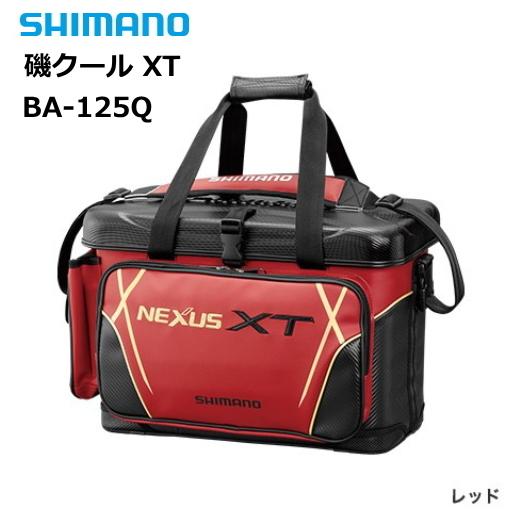 シマノ 磯クール XT BA-125Q レッド 36L / クールバッグ (S01) (O01)