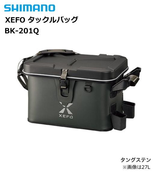 シマノ XEFO タックルバッグ BK-201Q タングステン 27L (送料無料) (S01) (O01)