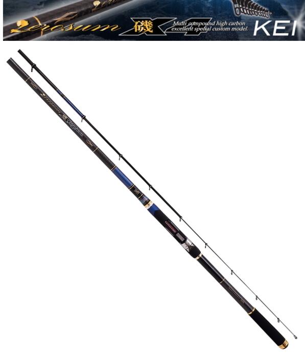 宇崎日新 (NISSIN) ゼロサム磯 X4KEI 1.5号-500 / 磯竿 [お取り寄せ商品]