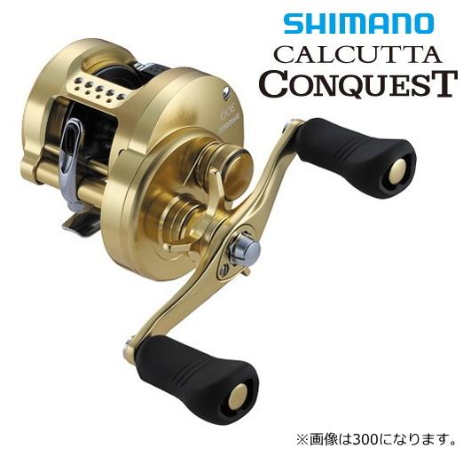 シマノ 18 カルカッタコンクエスト 401 (左ハンドル) / ベイトリール (送料無料)
