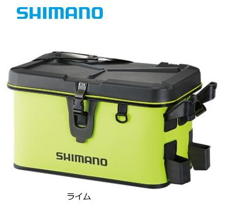 シマノ ロッドレスト ボートバッグ (ハードタイプ) BK-007R 32L ライム (S01) (O01)