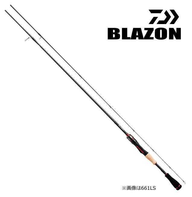 ダイワ 18 ブレイゾン 662LS・V (スピニング) / バスロッド (O01) (D01)
