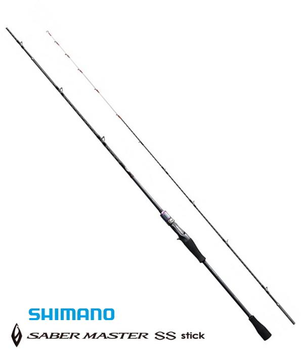 シマノ サーベルマスター SS スティック B606MH-S (ベイトモデル) / タチウオテンヤ 船竿 / セール対象商品 (3/29(金)12:59まで)