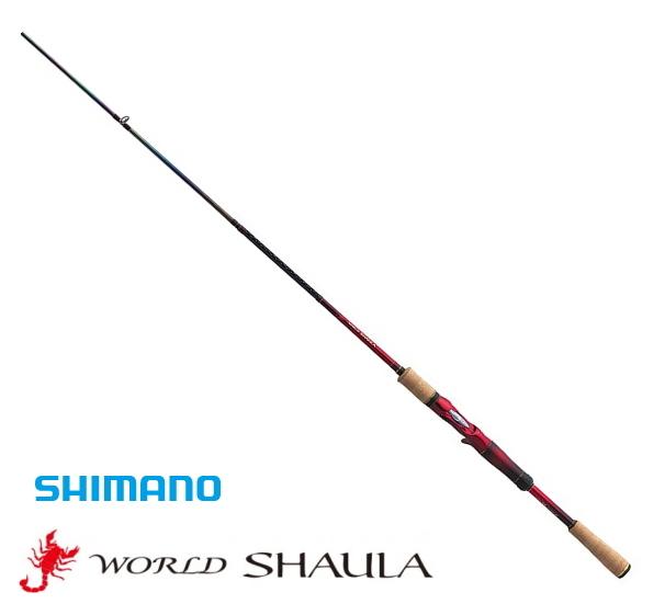 シマノ 18 ワールドシャウラ 15101F-3 (ベイトモデル) / バスロッド (S01) (O01) (セール対象商品)