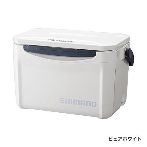 シマノ フリーガ ベイシス 260 UZ-026N ピュアホワイト / クーラーボックス (S01)