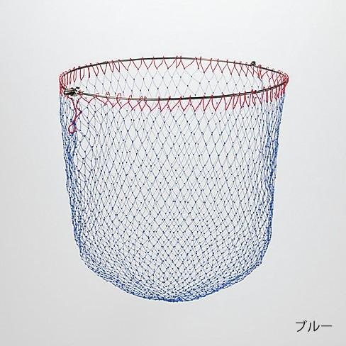 シマノ オールチタン磯ダモ (4つ折りタイプ) TM-071F ブルー 50cm / 玉網 (送料無料) (S01) (O01)