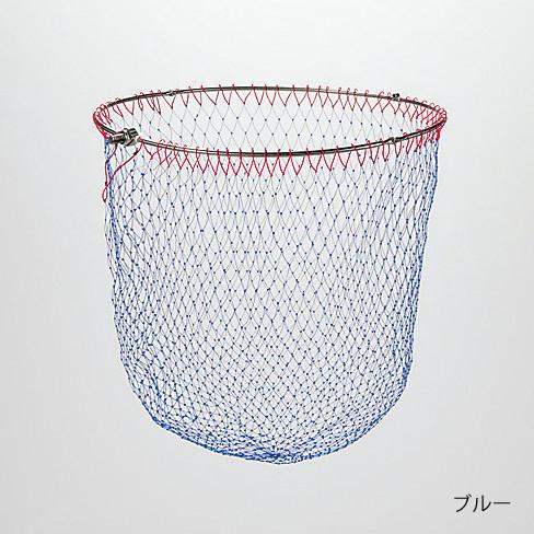 シマノ ステン磯ダモ (4つ折りタイプ) TM-061F ブルー 50cm / 玉網 (S01)