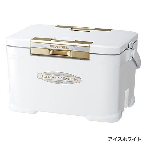 シマノ フィクセル ウルトラプレミアム 300 ZF-530R アイスホワイト 30L / クーラーボックス (O01) (S01) (セール対象商品)