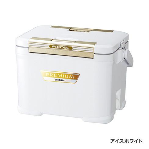 シマノ フィクセル プレミアム 170 ZF-017R アイスホワイト 17L / クーラーボックス (S01) / セール対象商品 (8/5(月)12:59まで)