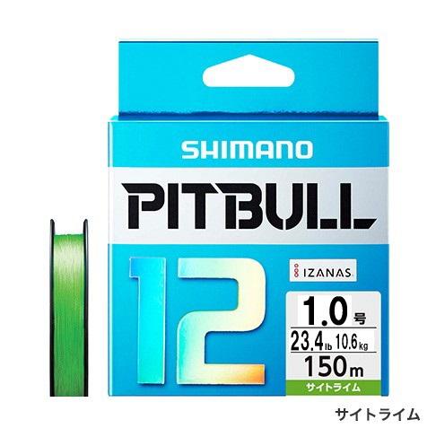 SHIMANO pit bull 12 PL-M52R site lime 1 0 150M [PE line]
