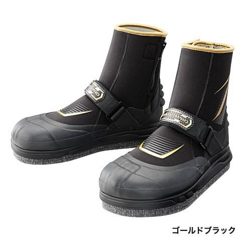 シマノ◆特価!リミテッドプロ・ジオロック・3DカットフェルトAYUタビ (中割) TA-151P (ゴールドブラック )?◆