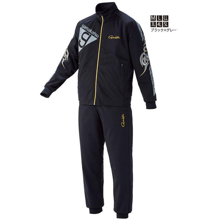 がまかつ◆特価!ブリーズテックス(R)スーツ GM-3535(ブラックXグレー)◆