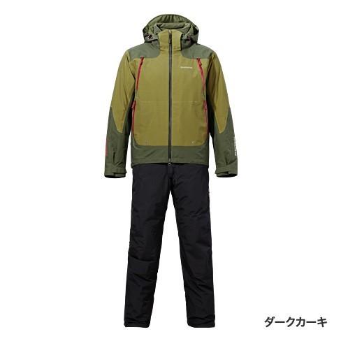 シマノ★GORE-TEXマスターウォームスーツRB-014M(ダークカーキ)M★特価!
