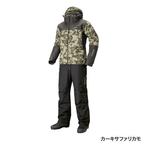シマノ◇DSアドバンスウォームスーツ RB-025R(カーキサファリカモ)◇