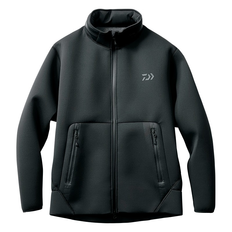 ダイワ★ウィンドブロック フルジップパーカDJ-2707(ブラック)XLサイズ特価!★