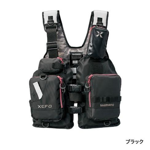 シマノ◇XEFO ゲームベスト278R (ブラック)◇