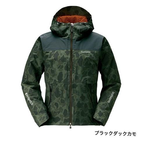 シマノ◇ DSエクスプローラーウォームジャケットRB-04JS(ブラックダックカモ)◇