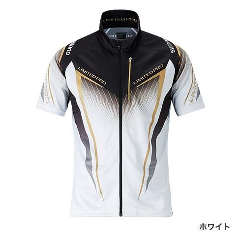 シマノ◇フルジップシャツLIMITED PRO(半袖) SH-012S(ホワイト)◇