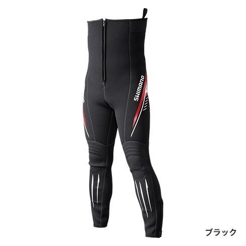 シマノ◇鮎タイツT-2.5 TI-071Q (ブラック)◇