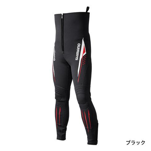 シマノ◇鮎タイツT-1.5 TI-081Q (ブラック)◇