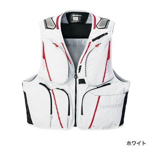 シマノ◇2WAYベスト XT VE-022Q(ホワイト)◇