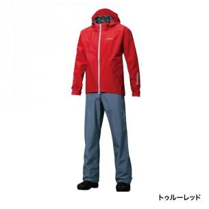 【送料無料】【シマノ】RA-017P GORE-TEX®ベーシックスーツ トゥルーレッド  Lサイズ