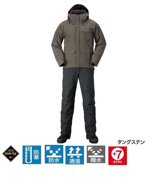 【送料無料】【シマノ】RB-214Q XEFO GORE-TEX(R) COZY SUIT タングステン XLサイズ
