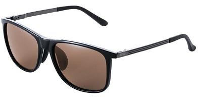 BUNNY WALK BW-0211C 買取 ポップアップ偏光レンズ BLACK HCブラウン 当店限定販売 SHINY