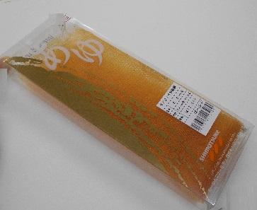 【SHIMOTUKE】モノフィラ鮎 替網 2.5mm 39cm ゴールド【ゆうパケット対応可】