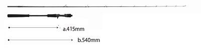 【送料別途商品】【ヤマガブランクス】シーウォーク ライトジギング 65M Bait Model