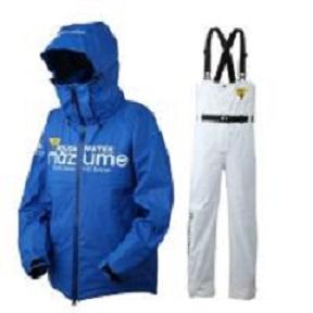 【mazume】 MZRS-504 mazume ROUGH WATERレインスーツIV ブルー LLサイズ