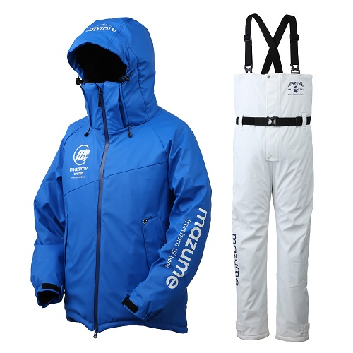 【マズメ】MZFW-435 mazume ROUGH WATER ALL WEATHER SUIT II  ブルー LLサイズ