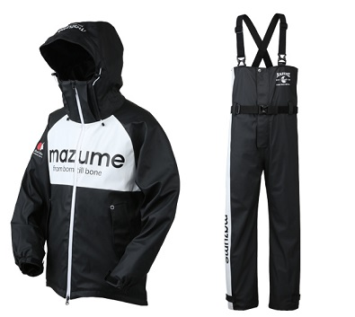 【mazume】MZRS-383 mazume ROUGH WATER レインスーツ II ブラック LLサイズ