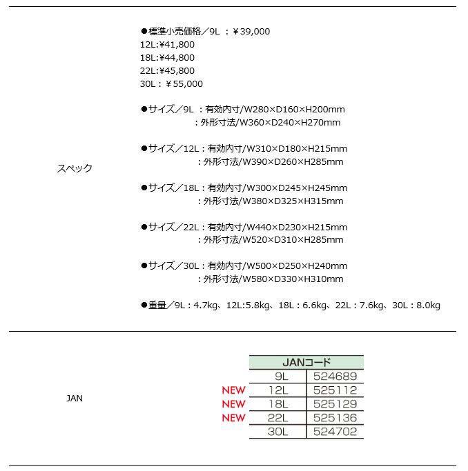 釣武者メタルクーラー スーパーギガクール 18L