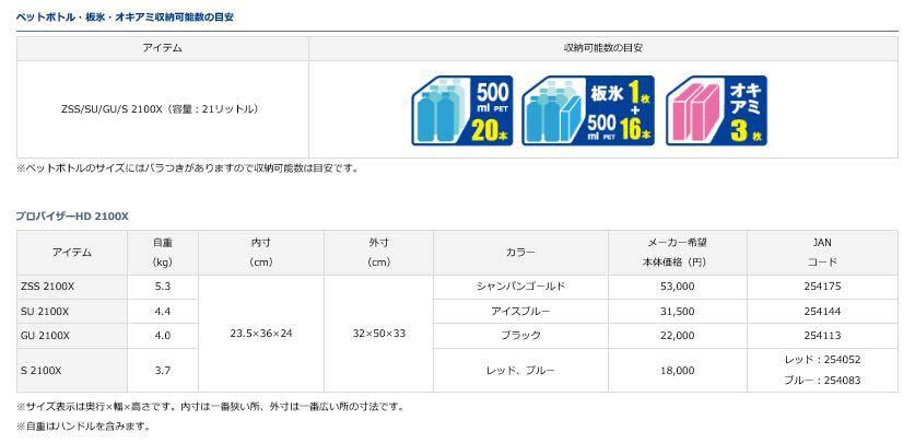ダイワ(Daiwa)プロバイザーHD ZSS2100X シャンパンゴールド