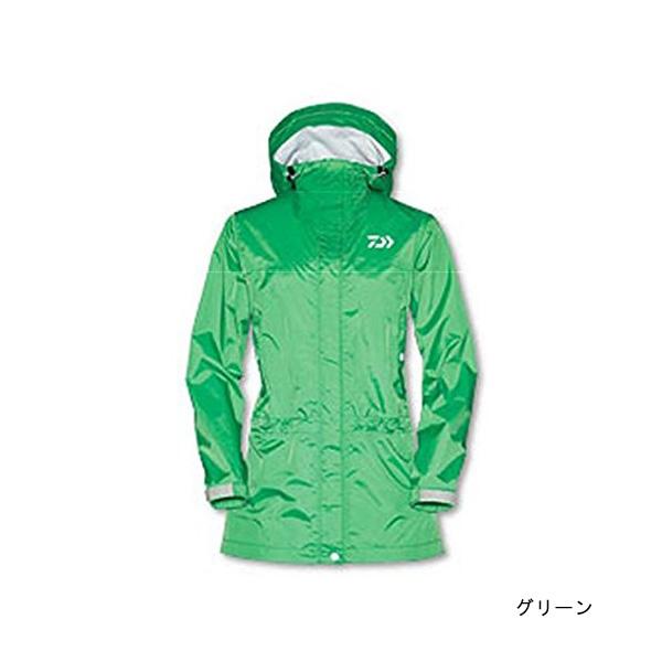 【旧モデル】【ダイワ(Daiwa)】DR-3801J レインマックス100レインハーフコート WM グリーン (タグにシール跡有)