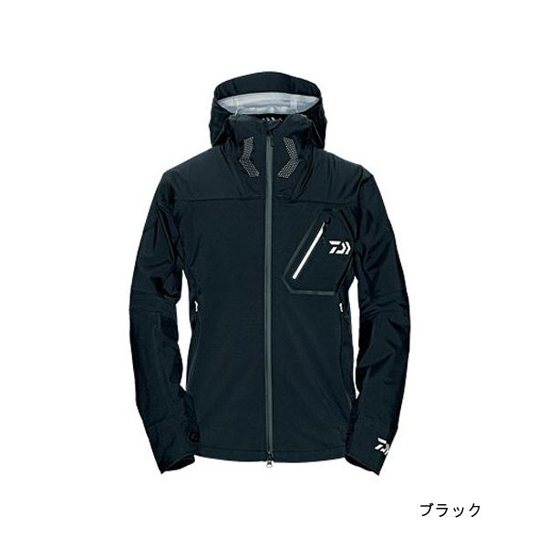 【旧モデル】【ダイワ(Daiwa)】DR-2303J レインマックスハイパーストレッチレインジャケット XL ブラック (タグにシール跡有)