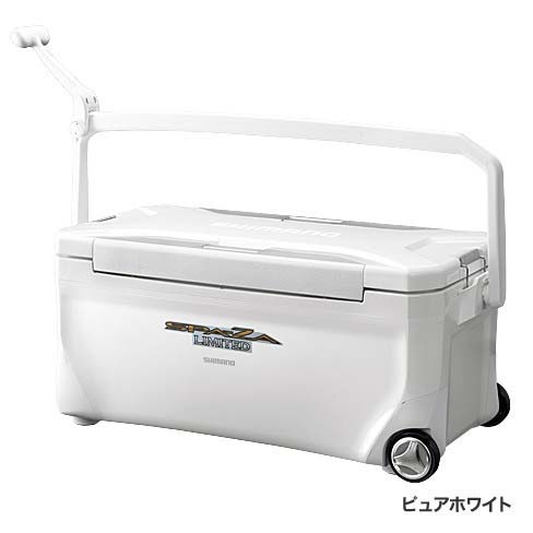 【シマノ(SHIMANO)】スペーザ リミテッド 350 キャスター HC-135M ピュアホワイト