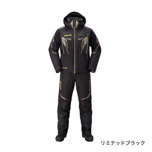 シマノ (Shimano)RB-111Q NEXUS GORE-TEX(R) ULTIMATE WINTER SUIT LIMITED PRO XL リミテッドブラック