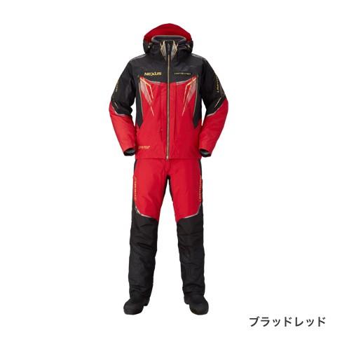 シマノ (Shimano)RB-111Q NEXUS GORE-TEX(R) ULTIMATE WINTER SUIT LIMITED PRO L ブラッドレッド