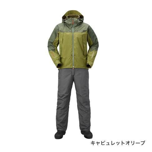 シマノ (Shimano)RB-025Q DSアドバンスウォームスーツ XL キャピュレットオリーブ