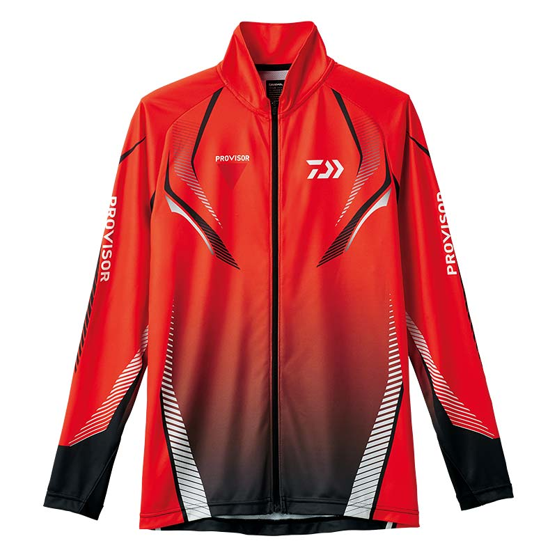 【ダイワ(Daiwa)】DE-74008 レッド 2XL プロバイザー ドライフルジップシャツ