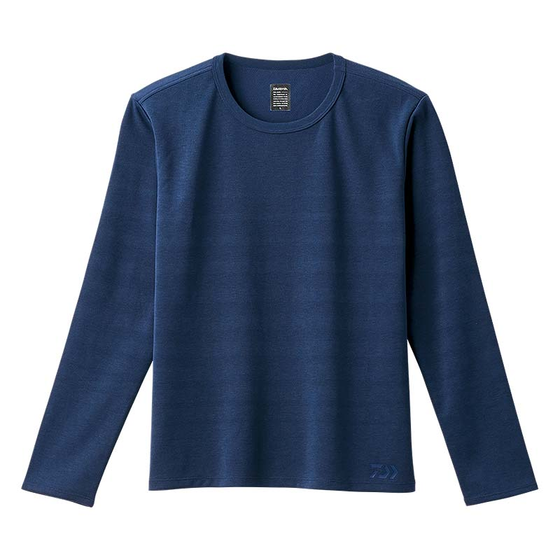 【ダイワ(Daiwa)】DE-87008 メディバルブルー M 強撥水ロングスリーブボーダーシャツ