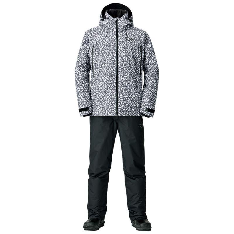 【ダイワ(Daiwa)】DW-3108 チャコールミラー XL レインマックス ウィンタースーツ 防寒着