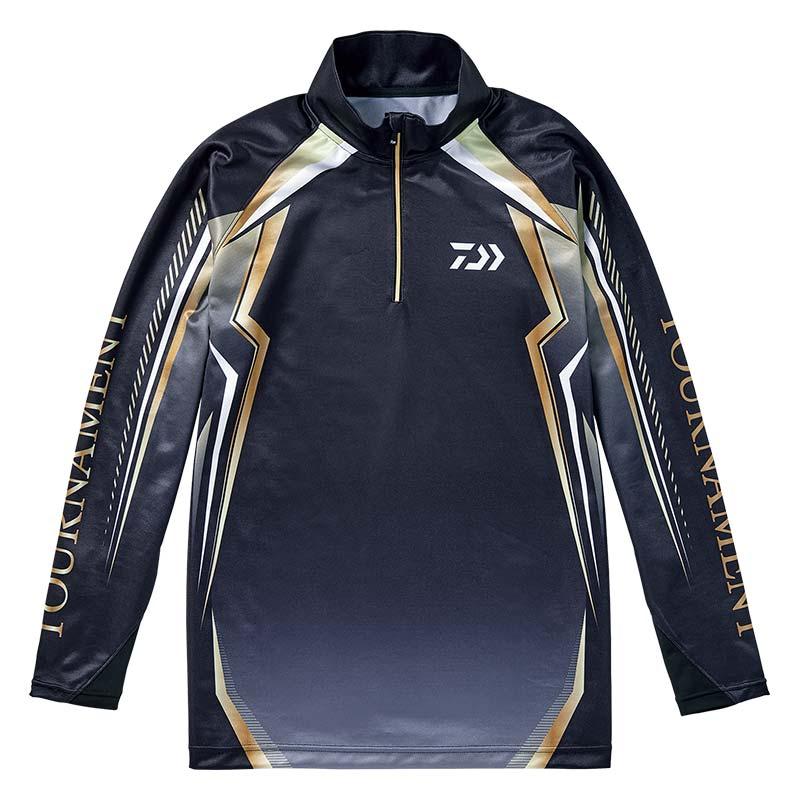 【ダイワ(Daiwa)】DE-77008T ブラック XL トーナメント ドライシャツ