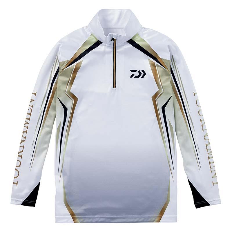 【ダイワ(Daiwa)】DE-77008T ホワイト M トーナメント ドライシャツ