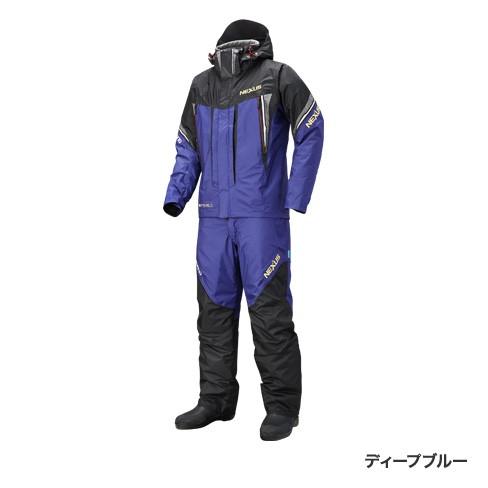 【シマノ(SHIMANO)】RB-125R ディープブルー XL NEXUS DSコールドウェザースーツ XT 防寒