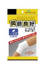 ピップ ヘルス 関節良好 シームレスサポーター ひざ用 ひざの周囲 タイムセール アウトレット M ツルハドラッグ 25~37cm