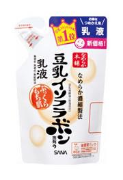 サナ なめらか本舗 豆乳イソフラボン含有の乳液 乳液 つめかえ用 全商品オープニング価格 送料無料限定セール中 NA ツルハドラッグ 130ml
